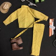 VINTAGE ACTION MAN - SOTW AUSTRALIAN JUNGLE FIGHTER UNIFORM